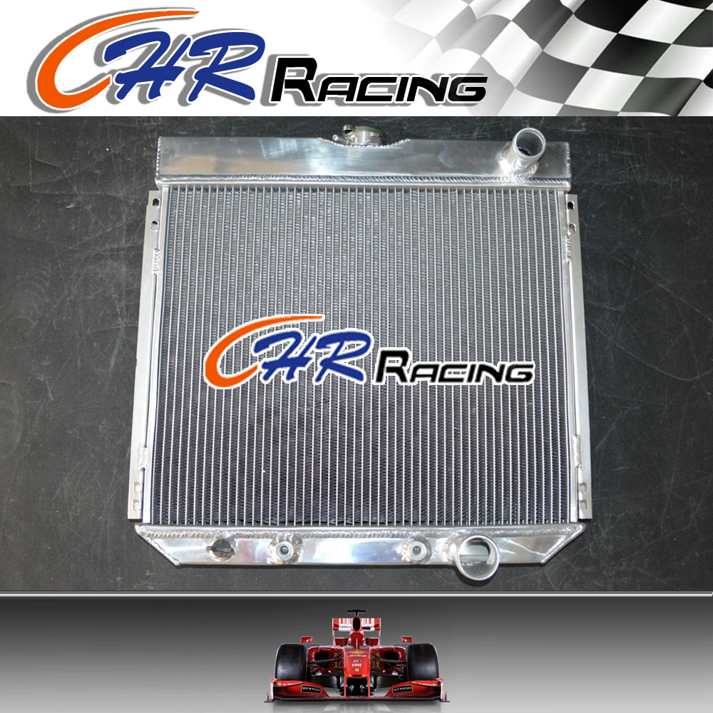 "2-ROW Aluminum Radiator Fit 97 98 99 01 Mercury Mountaineer 5.0L V8 21/""x24/"" Core"