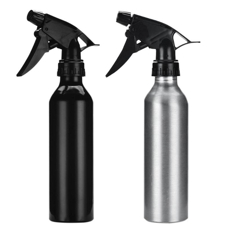 1PC Hairdressing Water Aluminum Spray Bottle Salon Barber Hair Care Hair Styling Tool Beauty Tools For Tattoo Accessories Supply