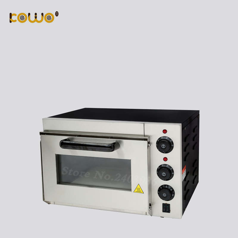 Professional commercial kitchen bakery machine 1 deck 25L capacity electric pizza bread baking oven mechanical timer control цена и фото