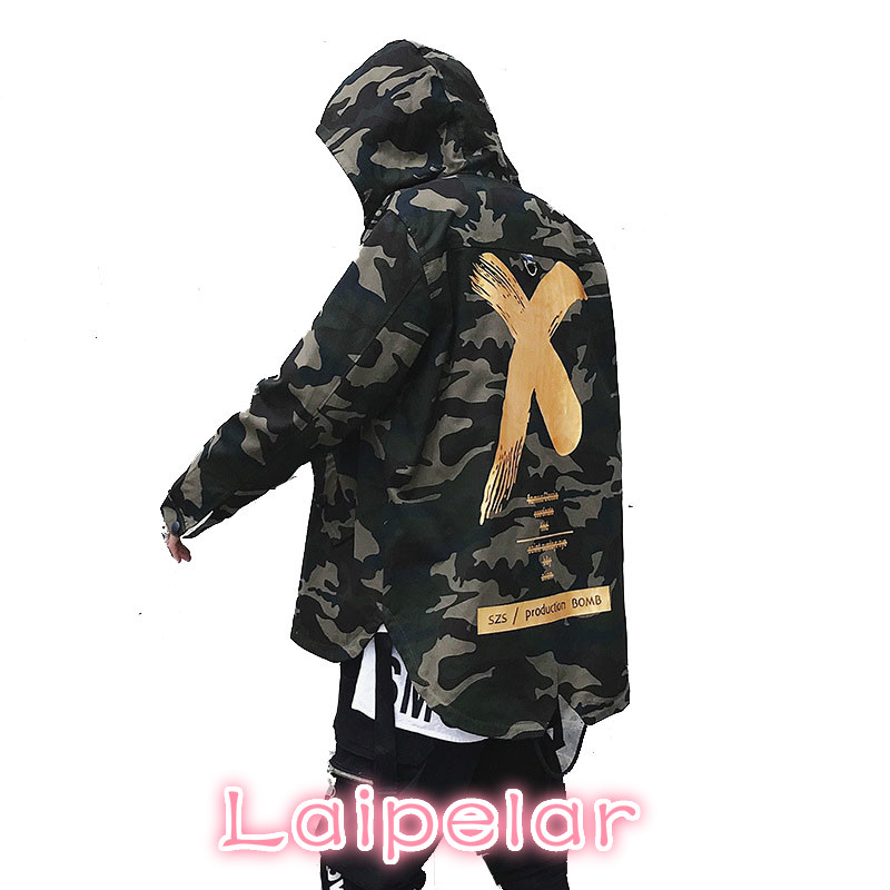 100% Wahr X Mantel Camo Jacke Rot Gelb Headwear Hoody Windjacken Hip Hop Jacken Mantel Für Männer Frauen Us Größe S-xl SchöNer Auftritt
