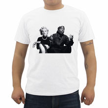 New Legends Tupac Marilyn Monroe 2Pac Print T-shirt Men's O-Neck Short-Sleeve T Shirt Summer Male Casual Tees Tops(China)