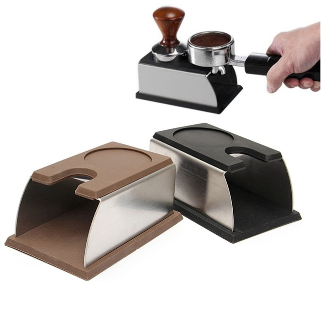 Coffee Tamper Holder Stainless Steel Stand Rack Shelf Brewing Tools Machine Accessories Caffe Making