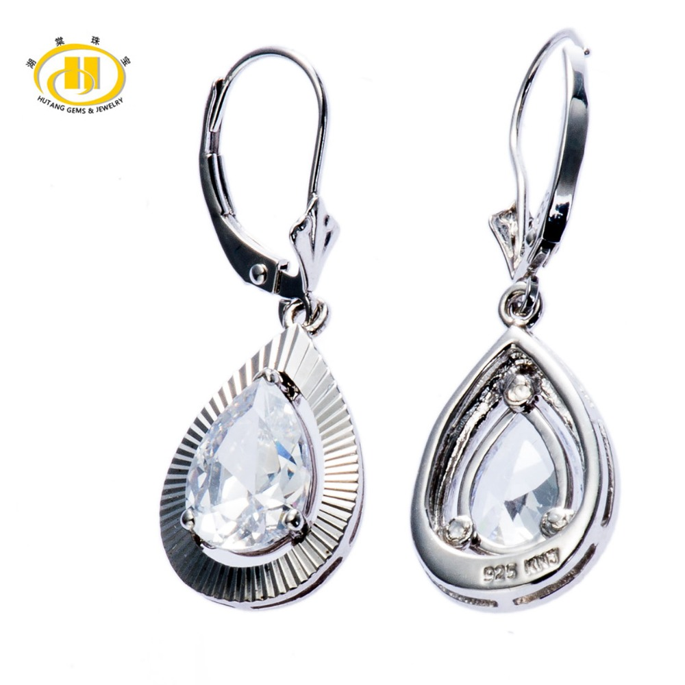 Aliexpress.com : Buy Hutang Teardrop Cubic Zirconia Solid ...