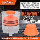 HORSDY Handy Packer Bearing Packer Flushes Out Old Grease Automotive Hand Operated Tool Set Filling Tool New