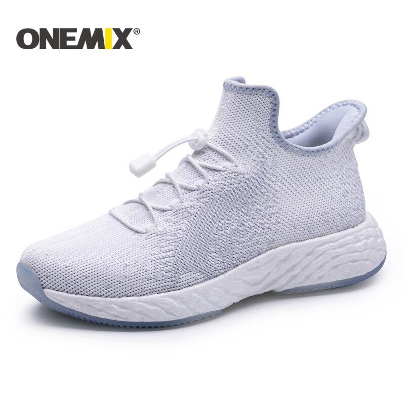 ONEMIX 2019 New Road Running Shoes For Men Light Sneaker Women Outdoor Athletic Jogging Mesh Uppers