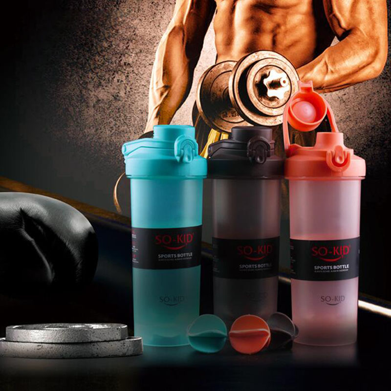Protein Shaker Blender Bottle Sports Fitness Gym Multifunction Whey Milk Dropshipping