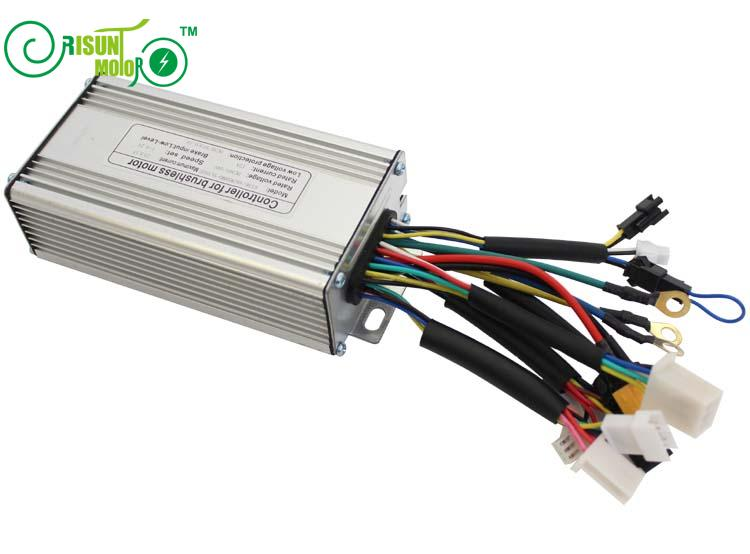 Silver E Bicycle Brushless Ebike Controller For 36V 48V 500W 9MOSFET 25A With Regenerative and Reverse