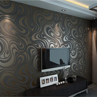 Free Shipping 0 7m 8 4m Sprinkle Gold Damask Wallpaper Roll Modern Minimalist Living Room Stereo