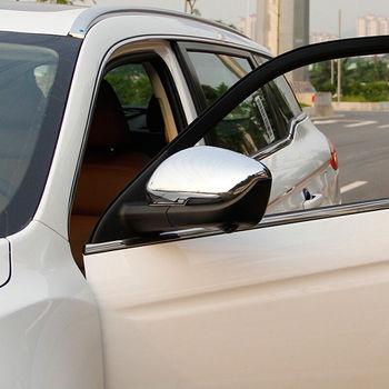 Abs 크롬 geely 아틀라스 2016 2017 2018 액세서리 자동차 사이드 미러 커버 커버 트림 스티커 자동차 스타일링 2 pcs
