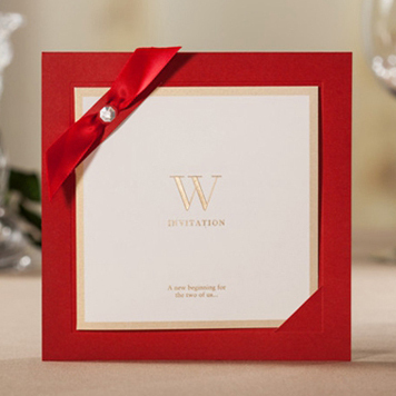 Chic Elegant Wedding Invitations Sample Cards Free ShippingIn Cards