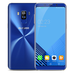 Bluboo S8 4G Smartphone Android 7.0 5.7 Inch MTK6750T Octa Core 3GB RAM 32GB ROM 18:9 Full Display Dual Rear Camera Mobile Phone