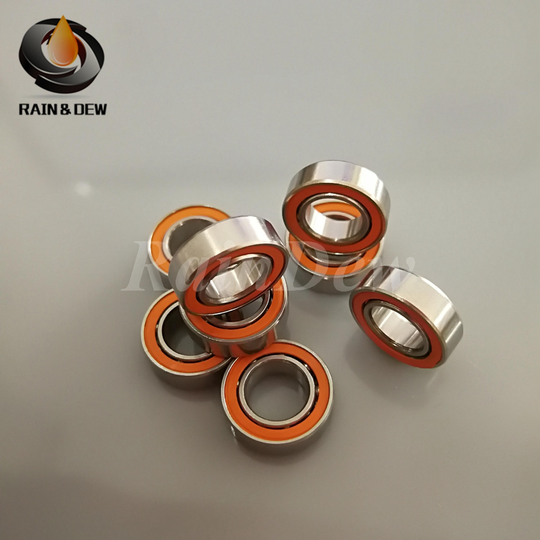 ABEC-7 7x13x4 mm SMR137-2RS Stainless CERAMIC Hybrid Ball Bearing 10 PCS