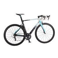 熱い販売!ブランドの新しい完全なロードバイク自転車フルカーボンファイバーグループセットサドルバー車輪