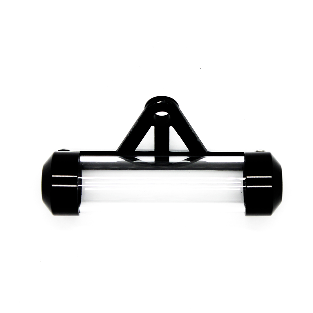 Universal Motorcycle Tube Tax Disc Cylindrical Holder Frame Real Waterproof
