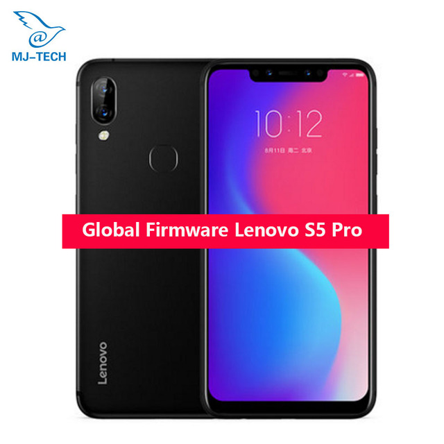 Global rom Original Lenovo S5 Pro L58041 6G 64G Rear Camera 20.0MP ZUI 5.0 Octa-Core 1.8GHz 3500mAh Battery Face ID Mobile phone