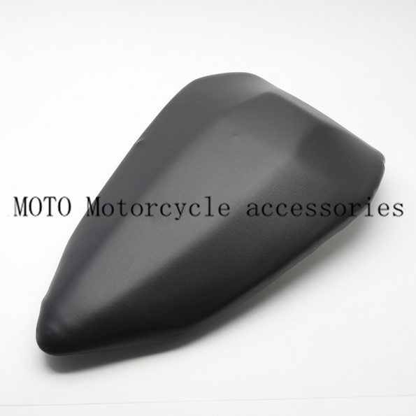 Motorcycle Pillion Passenger Rear Seat PU Leather For Ducati 899 1199 2012-2014 12 13 14 Cafe Racer Bobber Seat Cover Cushion