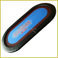 TP 04 Size 90*180CM, Foldable Casino tabletop, Three fold with waterproof fabric for Roulette Game