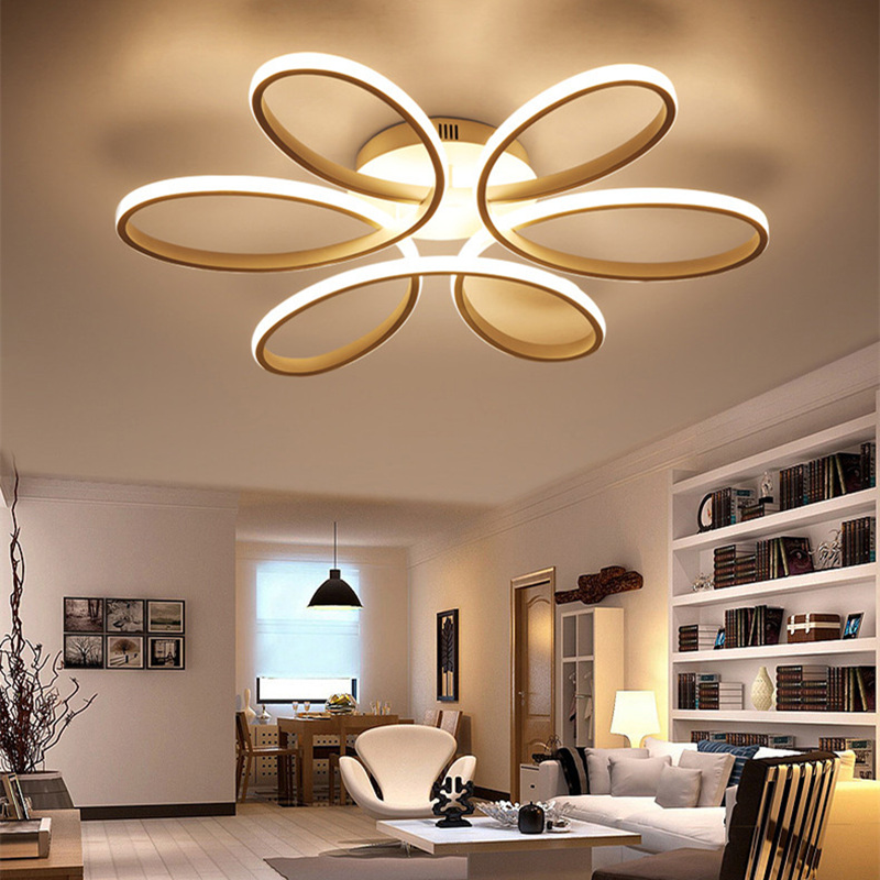 2018 Modern led chandelier ring chandelier For living room Chandeliers lustre luminaria chandelier decoration2018 Modern led chandelier ring chandelier For living room Chandeliers lustre luminaria chandelier decoration