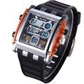 Relojes Hombres Marca Reloj LED Digital Resistente Al Agua Reloj de Cuarzo Militar Del Ejército Reloj Deportivo Relogio masculino