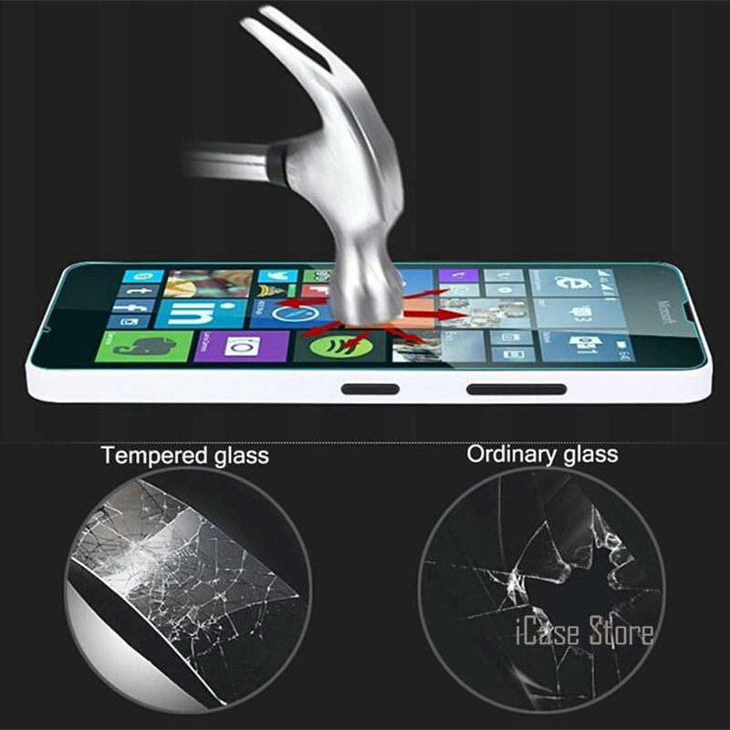 GzPuluz Glass Protector Film 100 PCS 0.26mm 9H 2.5D Tempered Glass Film for HTC One X10