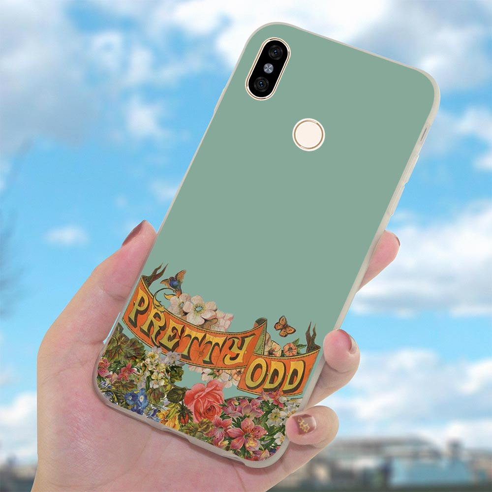 Cover for Xiaomi Redmi Note6 6Pro Panic At The Disco Phone Case for MI 5 A 6 Plus 7 Pro Prime A2 Note 8 Lite 9 se 4 X in Fitted Cases from Cellphones Telecommunications