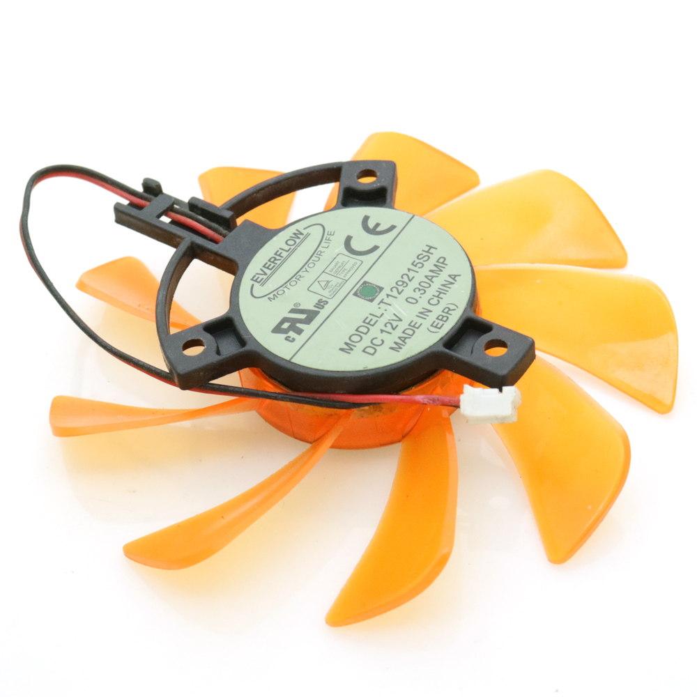 New EVERFLOW T129215SH DC12V 0.30AMP 85mm 39mm ZOTAC Graphics Card Cooling Fan