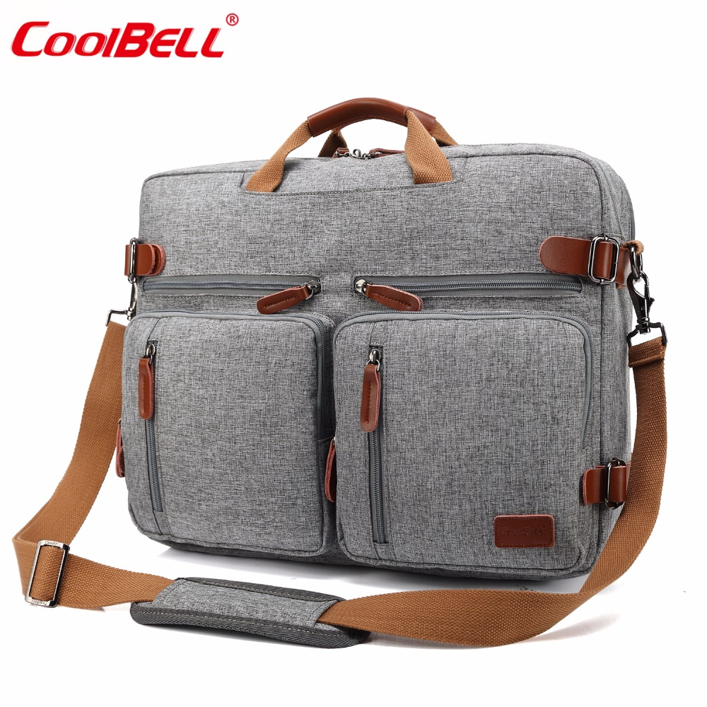 CoolBELL 17.3 Inch Large capacity Backpack Laptop Case Shoulder Bag Handbag Business Briefcase Multifunctional Travel Rucksack ...