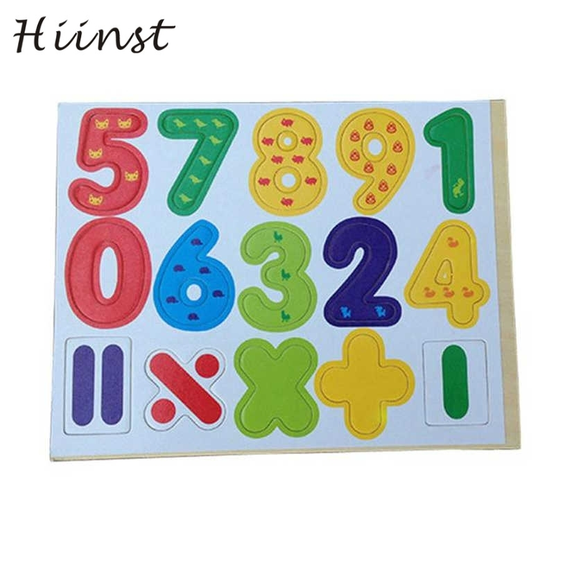 Hiinst 15 шт. деревянные магнитные цифры, математические ребенок учится развивающие игрушки Прямая поставка S30 Ag15 подарок