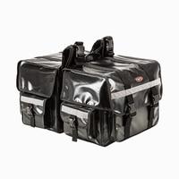 2017 NEW One Pair Motorcycle saddle bags Waterproof Plugs size 70L moto saddlebags luggage Back Motorbike seat bag