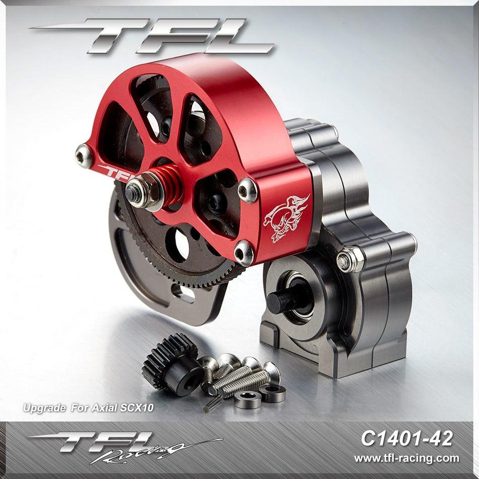 TFL Metal Wave Box Assembly General Purpose TFL SCX 10 Series Wave Box Assembly Original Gear Factory