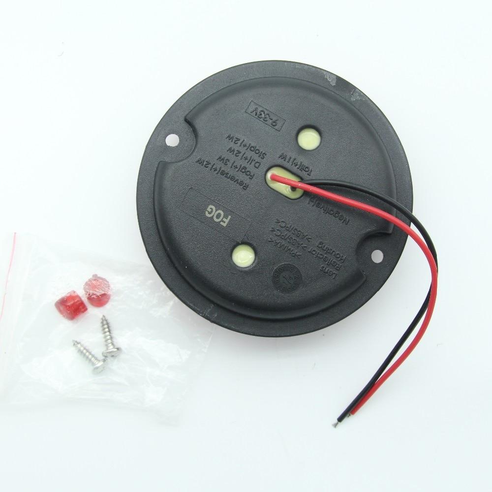 2Pcs 12V / 24V 95MM στρογγυλά LED φώτα ομίχλης - Φώτα αυτοκινήτων - Φωτογραφία 6