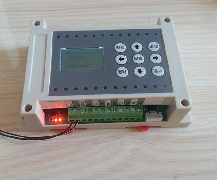 6 в, 6-, 6-способ многоканальный реле времени программируемый контроллер цикла синхронизации переключения простой PLC интегрированной машины