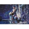 Starz 1000Pcs Aquarius Horoscope Common Paper Puzzle Twelve Constellations Theme Toys Best Adult Gift 50cm*75cm