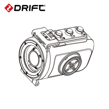 Original Drift Action Sports Camera 40M Waterproof Housings Case for Ghost 4K and Ghost X