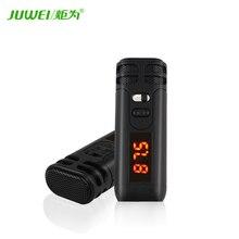 Enviar micrófono de mano inalámbrico transmisores de radio amplificador de los altavoces Del Coche pantalla de volumen de Reverberación del eco de carga de la batería