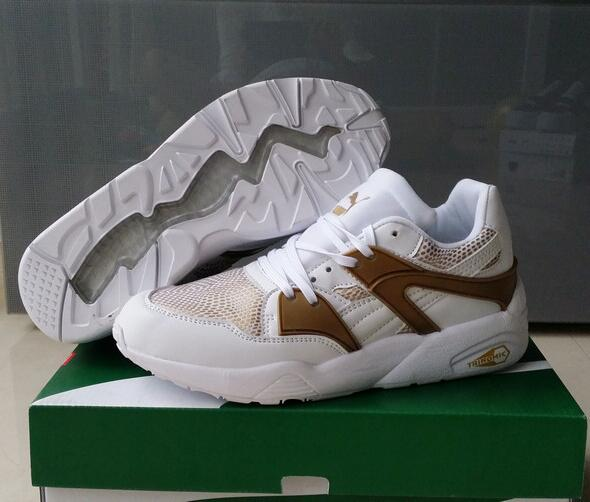 Original New Arrival PUMA TRINOMIC BLAZE men's shoes Sneakers Badminton Shoes size40-44