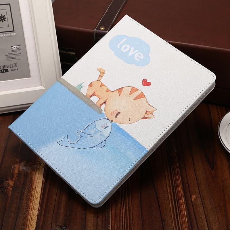 Case For Apple iPad Mini 1 2 3 Cartoon Protective Case with Smart Sleep & Wake Up 7.9 Inch Anti-drop Cover Shell for iPad Mini 3