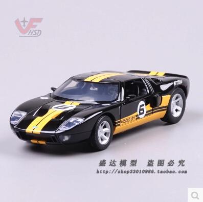 FORD GT Racing concept MOTORMAX 1:24 de aleación modelo de coche diecast metal original colección de juguetes para niños de regalo Clásico coches Coupe