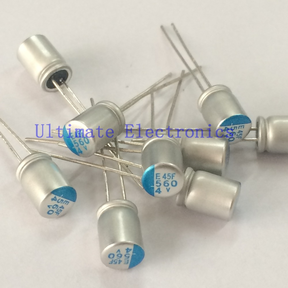 10pcs 560uF 4V NCC PSE Serires  6.3x8mm Super Low ESR 4V560uF For Motherboard VGA Solid Capacitors