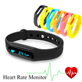 Bracelet Smart Wristband wrist C6 band Heart Rate Monitor smartband Bluetooth 4.0 band For Android iOS Phone PK for Miband 2