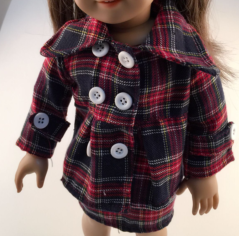 Free shipping hot 2014 new style Popular 18 American girl doll clothes dress b1228