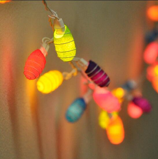 Multi Color Free Ship 3.5m 35 STRING LIGHTS COCOON HONEY PARTY,PATIO,FAIRY