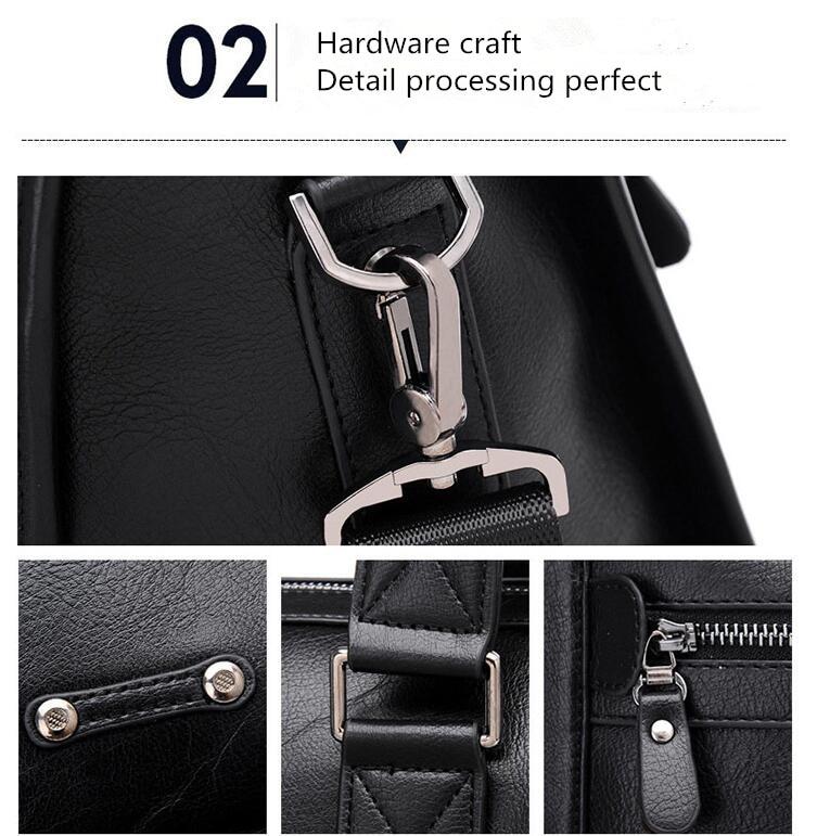 HTB1qDZ2LFzqK1RjSZFoq6zfcXXaq New Luxury Cow Genuine Leather Business Men's Briefcase Male Shoulder Bag Real Leather Men Messenger Bag Travel Computer Bag