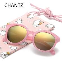 Kolo Děti Sluneční brýle Retro Plastové polarizované děti Sluneční brýle pro chlapce a dívky Zrcadlové odstíny UV400 Gafas De Sol 8 barev