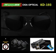 Polarized RX Sunglasses Male Black Grey Silver Three Colors Frame Myopia Optical Lenses 1.499 Index EXIA OPTICAL KD-193 Series
