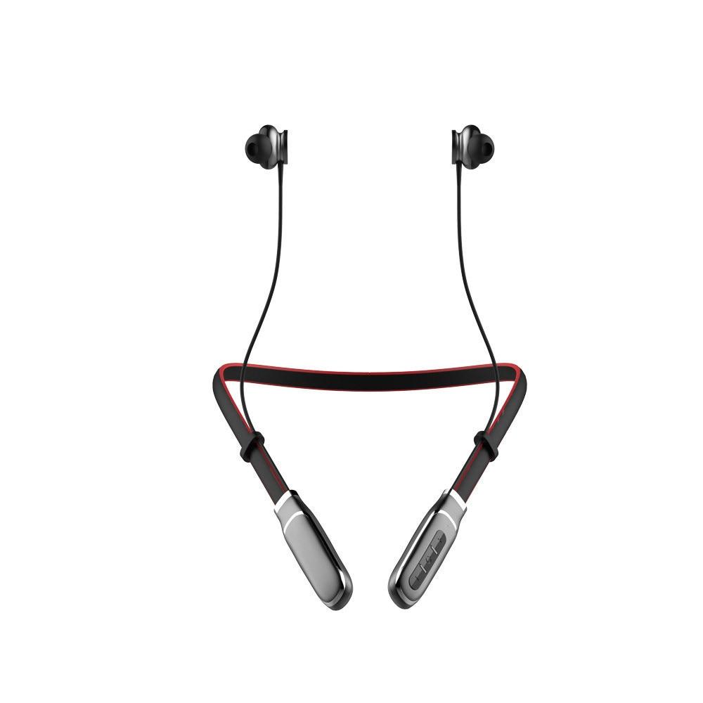Neueste top verkauf Kopfhörer Drahtlose Sweatproof Sport Gym Hals Falten In Ohr Kopfhörer Headset Stereo Kopfhörer Manos Libres