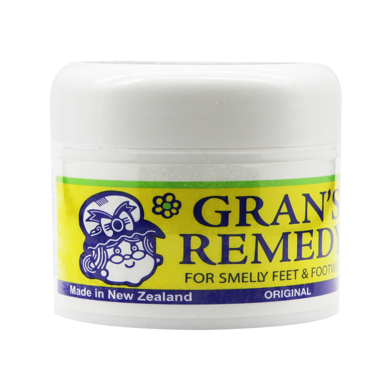 NewZealand Gran's Remedy Original Foot Powders Treatment For Smelly Feet FOOTWEAR Fresh Shoes Feet Smelling