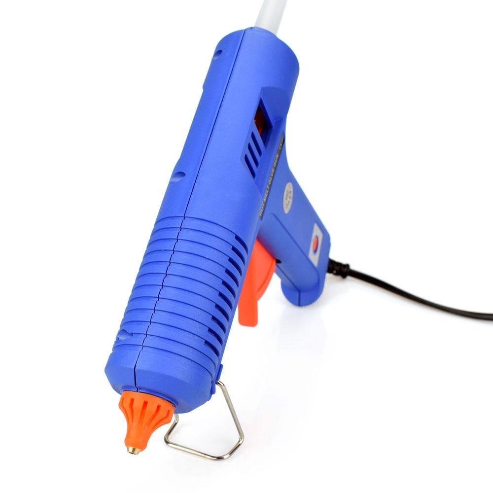 150W EU Plug BULE Hot Melt Lim Gun Gun med temperaturverktyg - Elverktyg - Foto 6