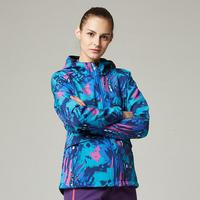 Outdoor Sports Softshell Jacket Women S Winter Camping Camouflage Waterproof Travel Hiking Soft Shell Fleece Jacket