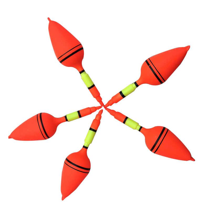 قطعة واحدة من الكرات البلاستيكية العائمة لصيد الأسماك لتذكيرك صنارة صنارة صنارة الصيد